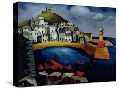 The Harbour, 1926-Christopher Wood-Stretched Canvas Print