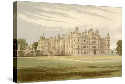 Burghley House-Alexander Francis Lydon-Stretched Canvas Print