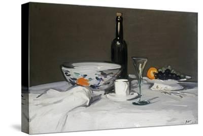 The Black Bottle, c.1905-Samuel John Peploe-Stretched Canvas Print