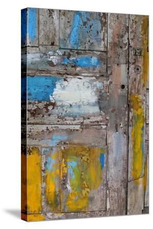 Old Door, Havana, Cuba--Stretched Canvas Print