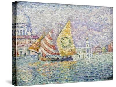 Bragozzo, Venice, 1905-Paul Signac-Stretched Canvas Print