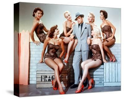 Guys and Dolls--Stretched Canvas Print