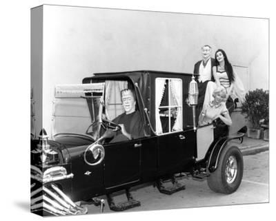 The Munsters--Stretched Canvas Print