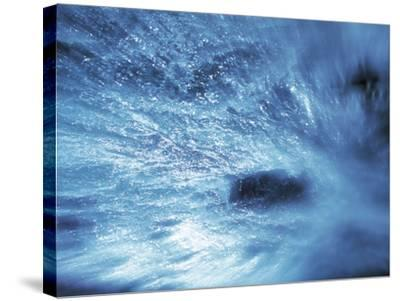 Abstract Water Splash--Stretched Canvas Print