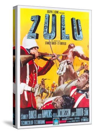ZULU, Italian poster art, 1964.--Stretched Canvas Print