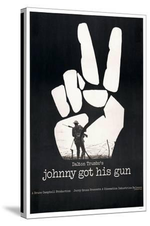 JOHNNY GOT HIS GUN, US poster, 1971--Stretched Canvas Print