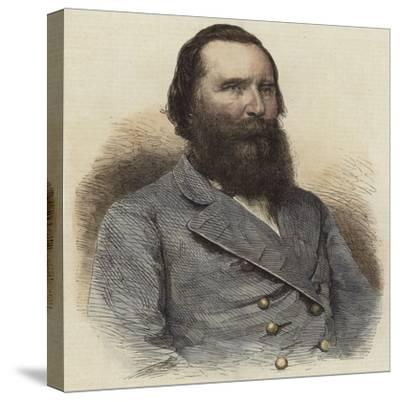 General Longstreet--Stretched Canvas Print
