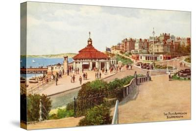 The Pier Approach, Bournemouth-Alfred Robert Quinton-Stretched Canvas Print