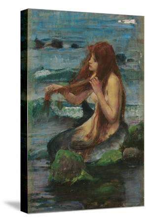 The Mermaid, 1892-John William Waterhouse-Stretched Canvas Print