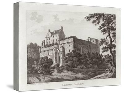 Dalhousie Castle--Stretched Canvas Print