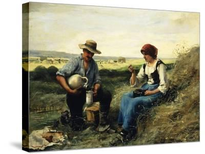 The Midday Repast-Julien Dupre-Stretched Canvas Print