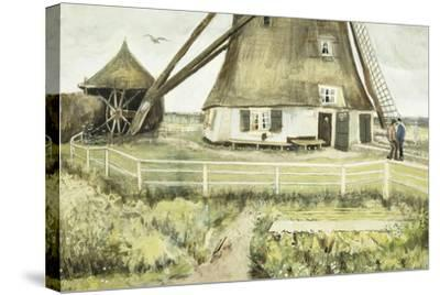 The Mill; Le Moulin, 1881-Vincent van Gogh-Stretched Canvas Print