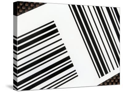 Barcodes-Martin Bond-Stretched Canvas Print