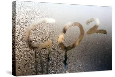 Global Warming, Conceptual Image-Victor De Schwanberg-Stretched Canvas Print
