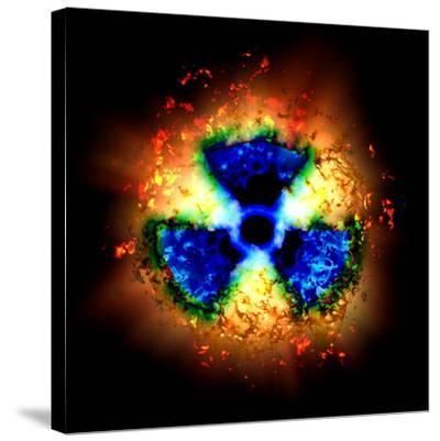 Radiation Hazard-Christian Darkin-Stretched Canvas Print