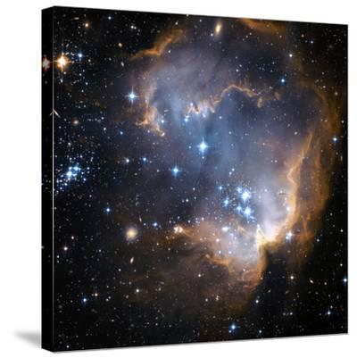 Starbirth Region NGC 602-Hubble Heritage-Stretched Canvas Print
