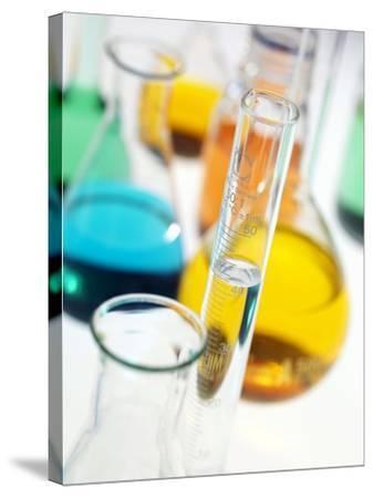 Laboratory Glassware-Tek Image-Stretched Canvas Print