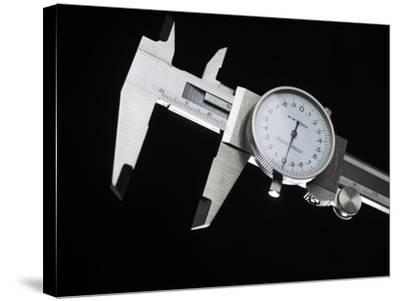 Dial Calipers-Tek Image-Stretched Canvas Print