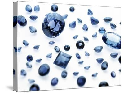 Sapphire Gemstones-Lawrence Lawry-Stretched Canvas Print