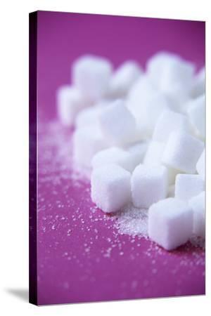 White Sugar Cubes-Veronique Leplat-Stretched Canvas Print