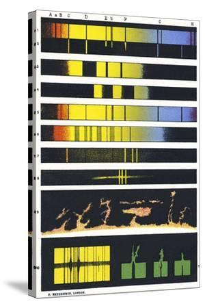 Early Astronomical Spectroscopy-Sheila Terry-Stretched Canvas Print
