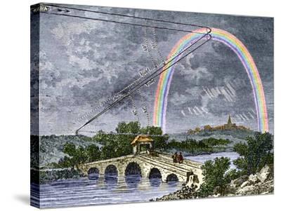 Rainbow Optics, Historical Artwork-Sheila Terry-Stretched Canvas Print