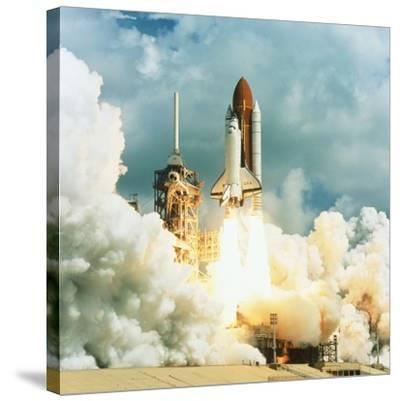 Shuttle Columbia Launch, Mission STS-78, 20.6.96--Stretched Canvas Print