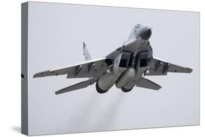 MiG-29 Fighter Jet-Ria Novosti-Stretched Canvas Print