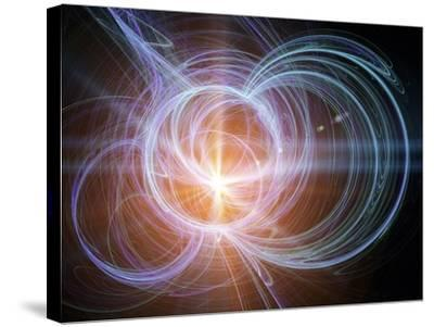 Higgs Boson, Conceptual Artwork-PASIEKA-Stretched Canvas Print