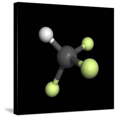 Trifluoromethane Molecule-Friedrich Saurer-Stretched Canvas Print