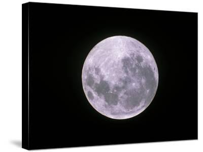 Full Moon-John Sanford-Stretched Canvas Print