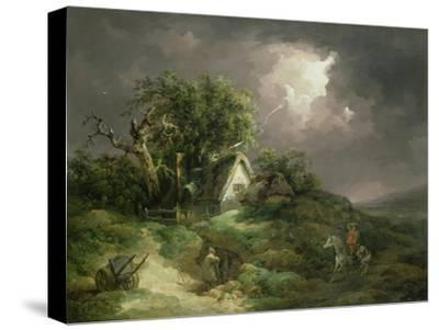 The Coming Storm, Isle of Wight, 1789-George Morland-Stretched Canvas Print