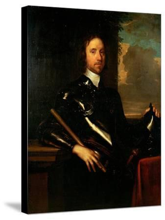 Oliver Cromwell-Robert Walker-Stretched Canvas Print
