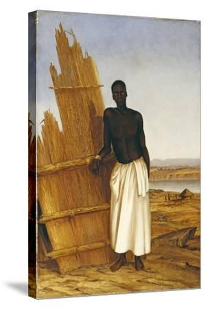 Conde - a Native of Tete-Thomas Baines-Stretched Canvas Print