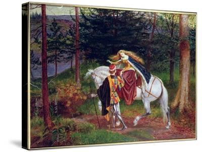 La Belle Dame Sans Merci-Walter Crane-Stretched Canvas Print