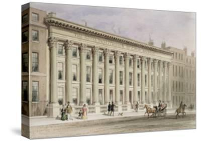 The Royal Institution of Great Britain, Albemarle Street, C.1838-Thomas Hosmer Shepherd-Stretched Canvas Print