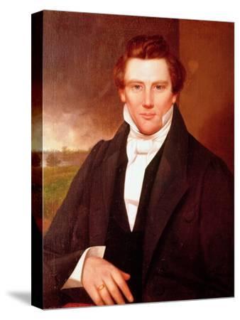 Portrait of Joseph Smith--Stretched Canvas Print
