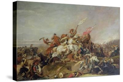 The Battle of Marston Moor in 1644, 1819-Abraham Cooper-Stretched Canvas Print