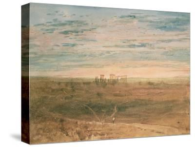 Stonehenge-J^ M^ W^ Turner-Stretched Canvas Print