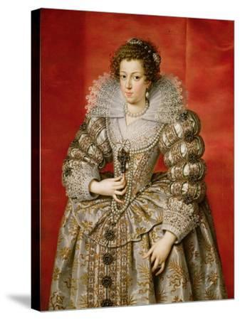 Anne of Austria (1601-66)-Frans II Pourbus-Stretched Canvas Print
