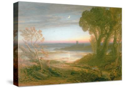 The Curfew-Samuel Palmer-Stretched Canvas Print