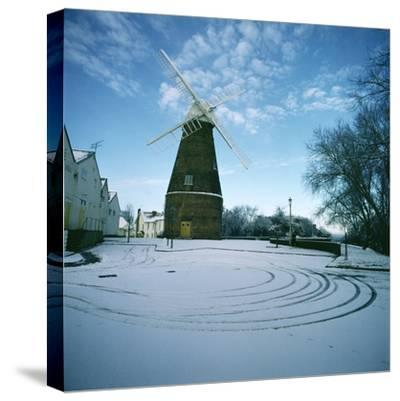 Rayleigh Windmill, Essex--Stretched Canvas Print