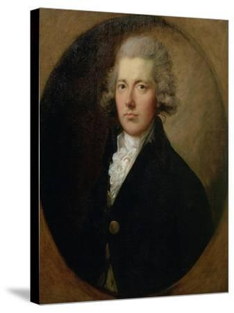 Portrait of William Pitt the Younger (1759-1806), C.1787-Thomas Gainsborough-Stretched Canvas Print