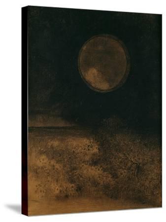 La Sphere (Globe), 1890-5-Odilon Redon-Stretched Canvas Print