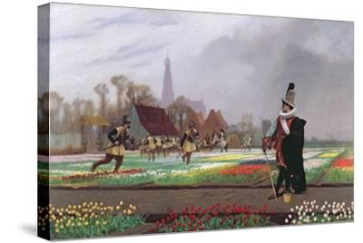 The Tulip Folly, 1882-Jean Leon Gerome-Stretched Canvas Print