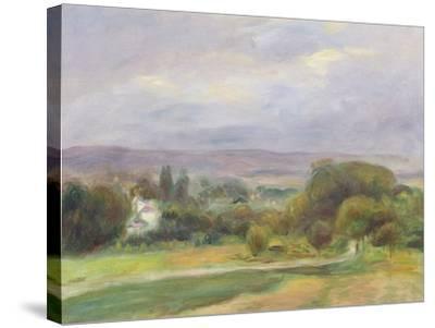 The Path, 1895-Pierre-Auguste Renoir-Stretched Canvas Print