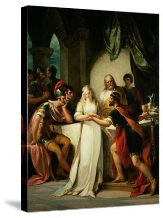 Vortigern and Rowena, 1793-William Hamilton-Stretched Canvas Print