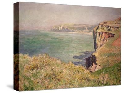 Cliff at Varengeville, 1882-Claude Monet-Stretched Canvas Print