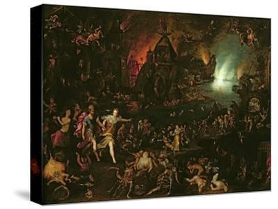 Aeneas in the Underworld-Jan Brueghel the Elder-Stretched Canvas Print