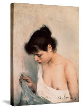 Study, C.1893-Ramon Casas i Carbo-Stretched Canvas Print